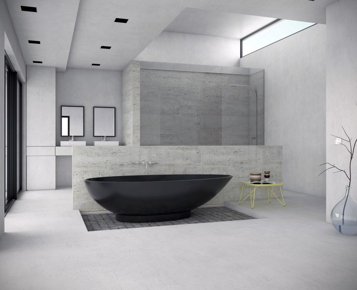 black-bathtub