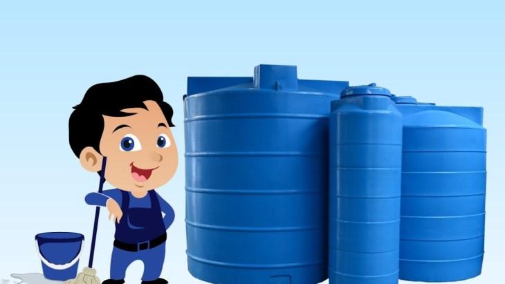 DIY Water Tanks Cleaning