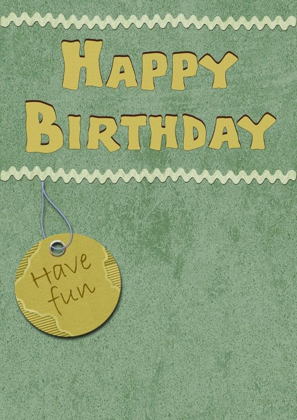 DIY Friend Birthday Card Idea for Kindergarten