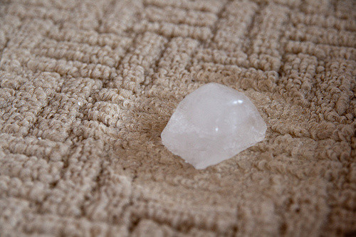 Use Ice for DIY Carpet Cleaning