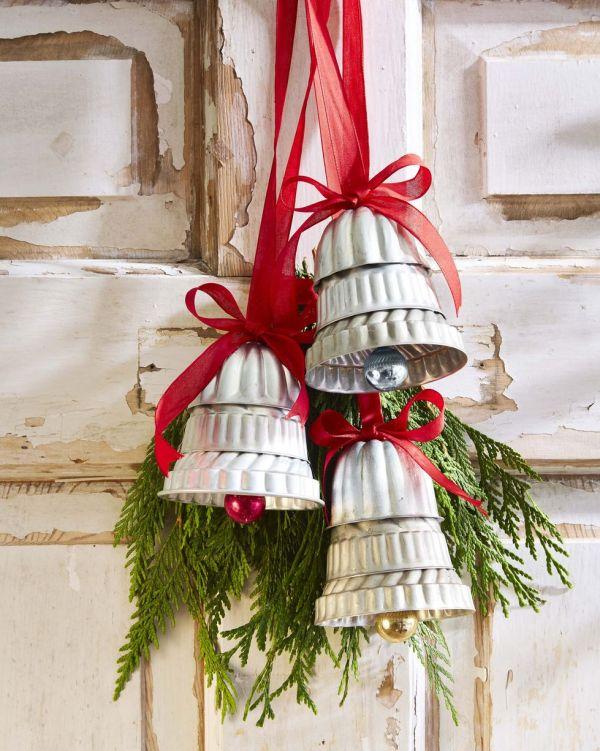 DIY Door Bells for Christmas Decoration