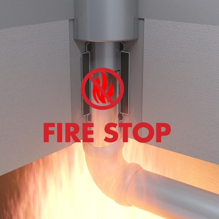 Fire collar  Easy Drain