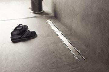 Canaline lineari per docce  Easy Drain  Doccia libera da barriere