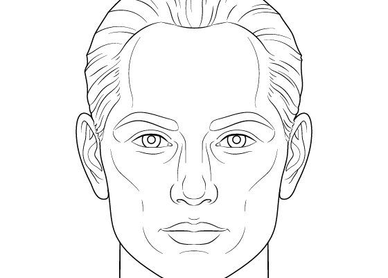 How to Draw a Male Face Step by Step Tutorial