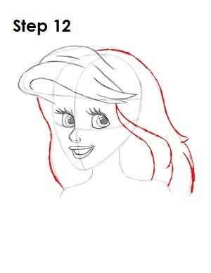 Learn how to draw: How to Draw Ariel