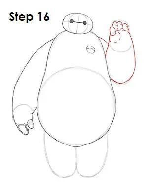 How to Draw Baymax (Big Hero 6)