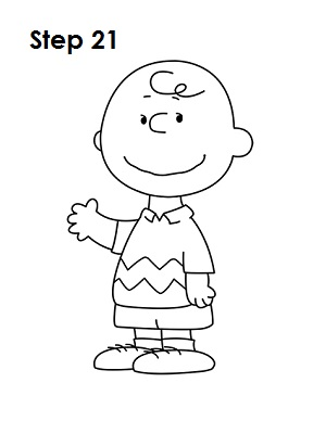 How to Draw Charlie Brown