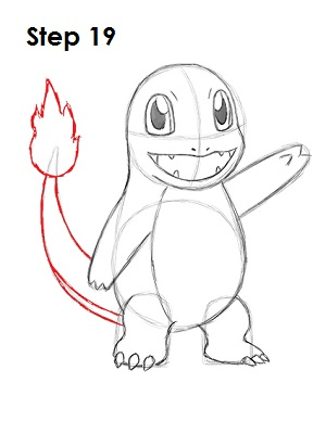 How to Draw Charmander