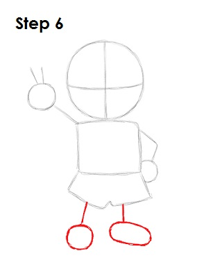 How to Draw Ness (EarthBound)