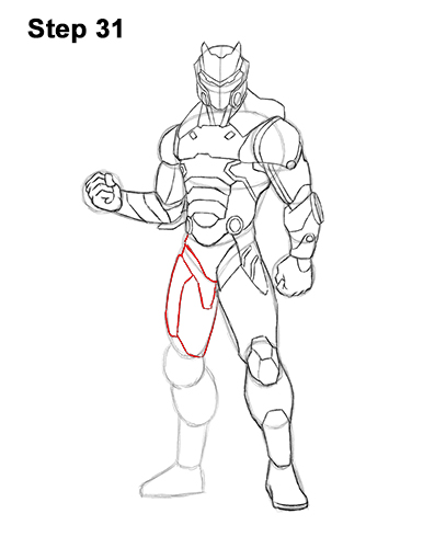 How to Draw Omega from Fortnite VIDEO & Step-by-Step Pictures