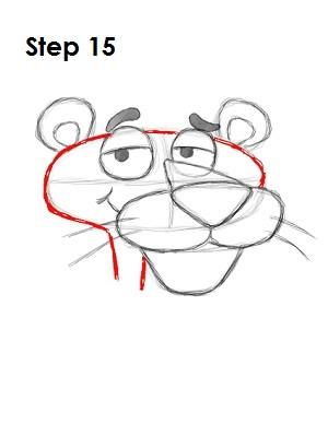 How to Draw the Pink Panther