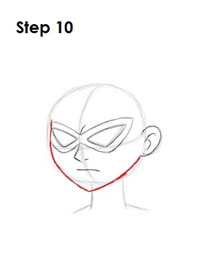 How to Draw Robin (Teen Titans)