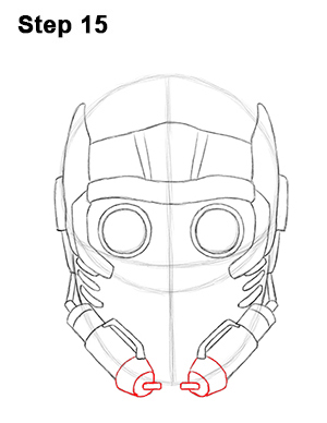 How to Draw Star-Lord (Guardians of the Galaxy)