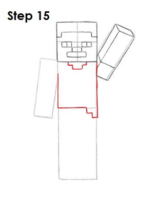 How to Draw Steve (Minecraft)