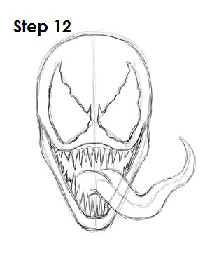 How to Draw Venom (Spider-Man)