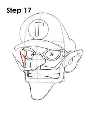How to Draw Waluigi