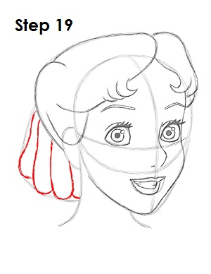 How to Draw Wendy Darling (Peter Pan)