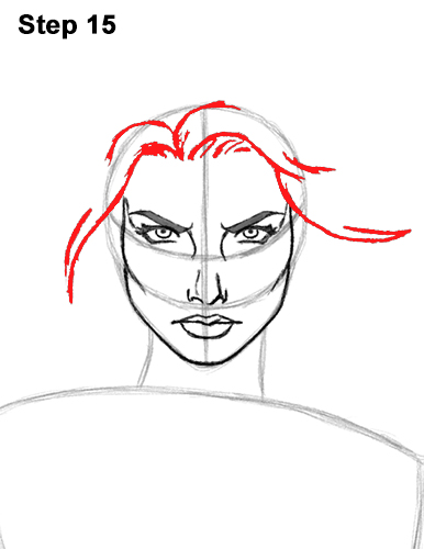 How to Draw Wonder Woman (Full Body)