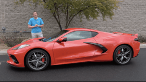 Doug DeMuro Behind Corvette C8 - Easy Earned Money: