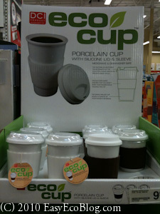 Reusable coffee cup, coffee cup