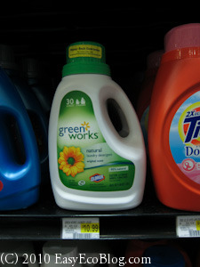 clorox Greenworks natural laundry detergent