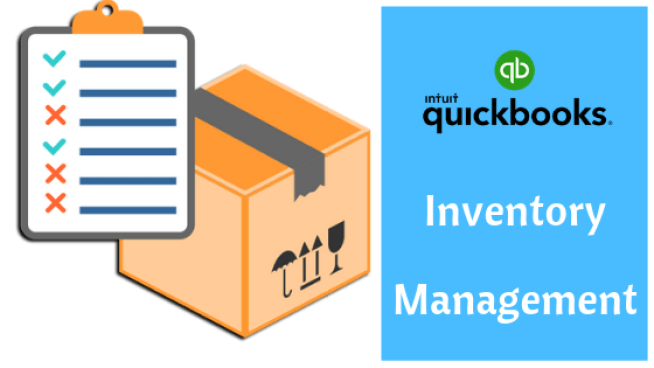 Quickbooks Inventory Management