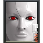 Flip up Frame, Round Flip Frame, Snap Frame, Black Poster Frame, Movie Poster Frames, Robopacalyps movie poster