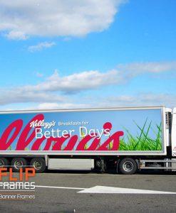 Kellogs Trailer Truck Billboard Banner Frame_sm