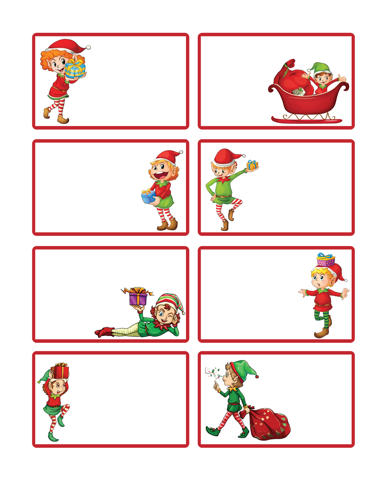graphic relating to Free Printable Christmas Labels identified as Letters in opposition to Santa offers: Cost-free Printable Xmas Present