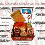 Magical Christmas Eve Box! At our house, a little Elf comes jingling by with a special delivery on Christmas Eve. We never catch him, but he always leaves a box of goodies like this on the front step! via Letters from Santa Holiday Blog