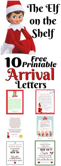 elf on the shelf ideas for arrival 10 free printables a collection