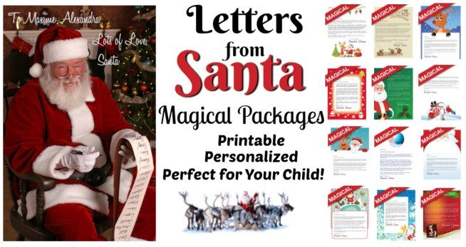 magical santa packages letters from santa our magical packages letters from 15711 | Letters from Santa Magical Packages Perfect for your Child