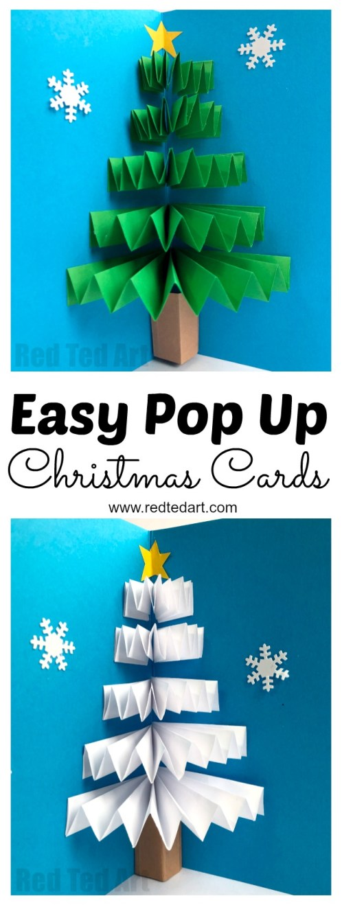 Christmas Cards Kids Can Make 10 More Ideas Letters From