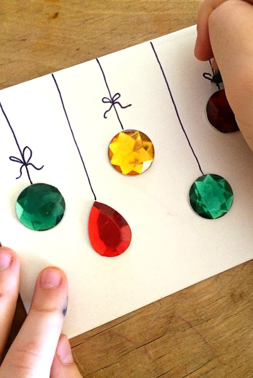 Christmas Ideas For Kids Cards.Christmas Cards Kids Can Make 10 More Ideas Letters From