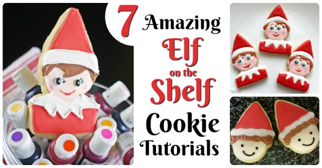 Cookies for your Elf on the Shelf! 7 amazing tutorials for Elf Christmas cookies that will make your kids giggle with delight! Perfect for Christmas in the classroom, kids parties, or even leaving out for Santa on Christmas Eve! Another fun holiday post by Letters from Santa Blog :)