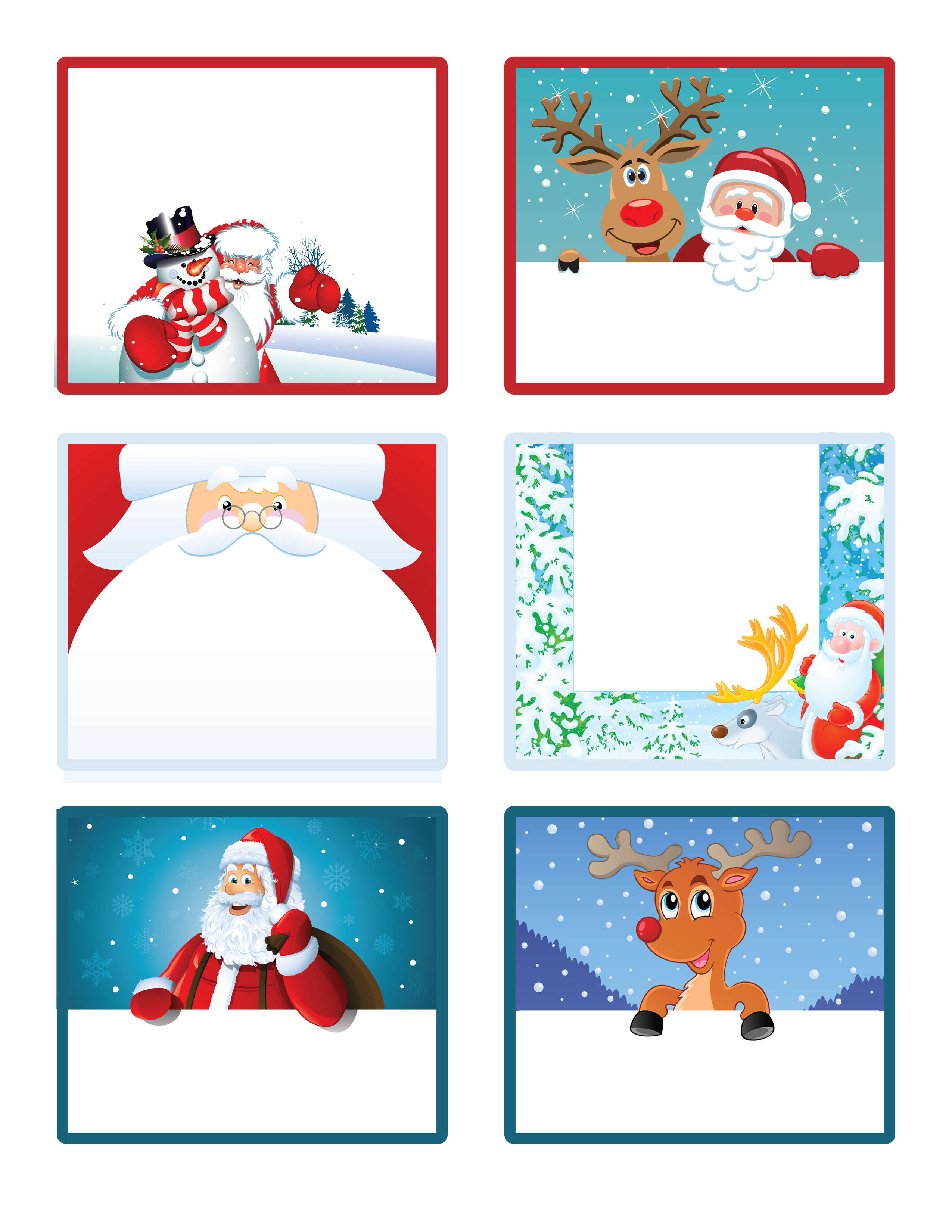 Santa S Little T To You Free Printable T Tags And