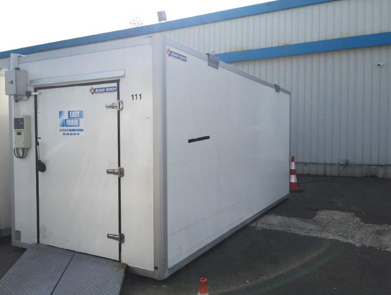 Caisse frigorifique e25cf occasion  vente chambres froides mobiles Easyfroid
