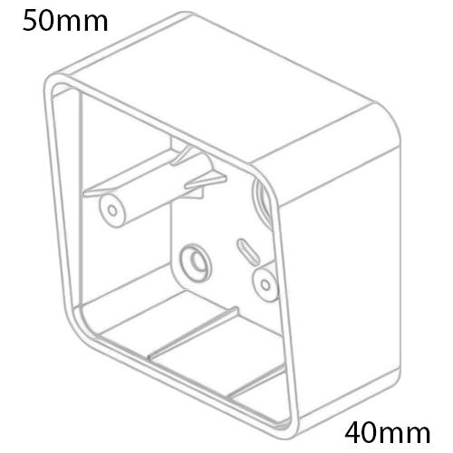 DRB-IR-1224S Infrared IR Door Release Push Button (Surface