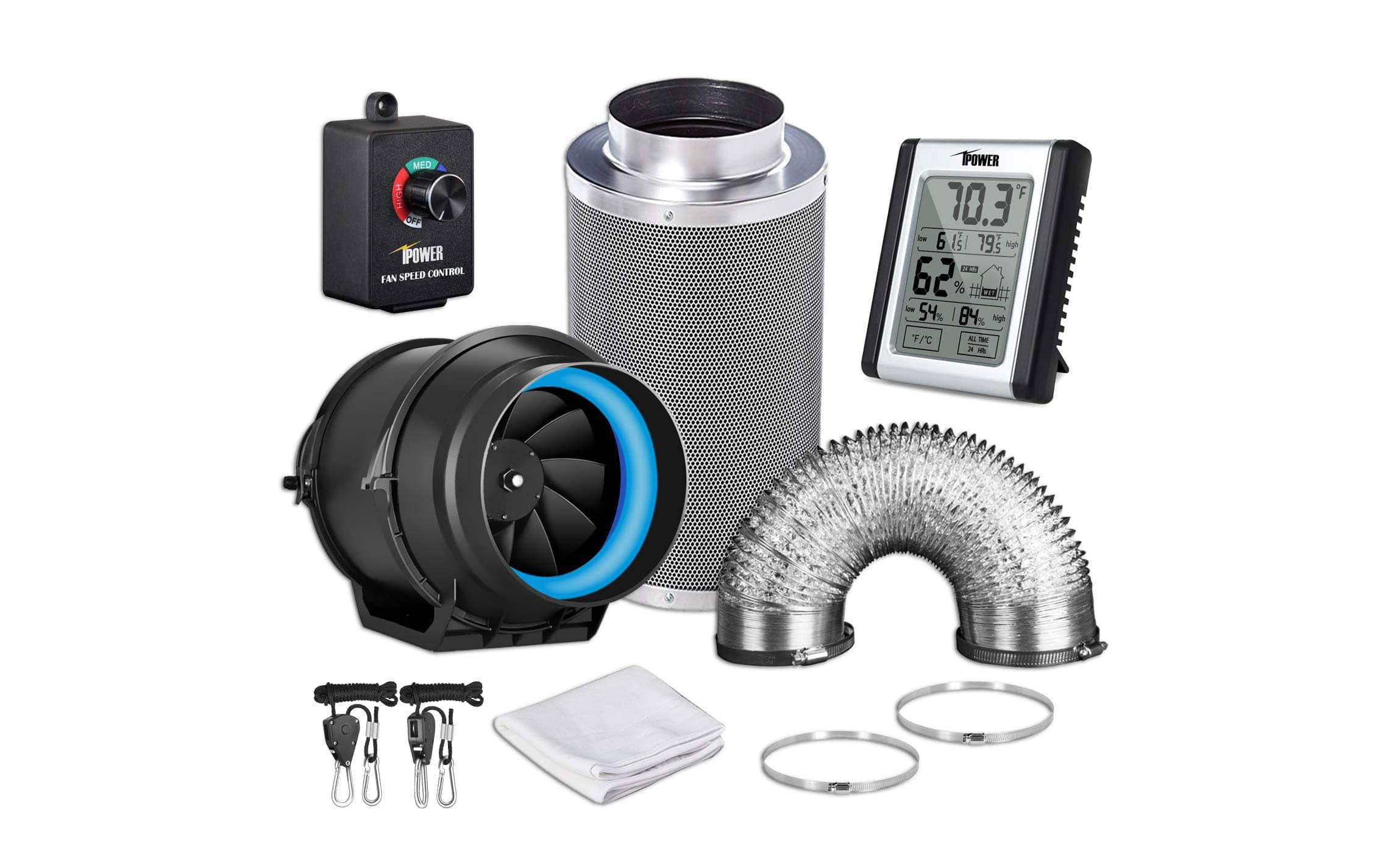 top 10 best carbon filter fan combo in