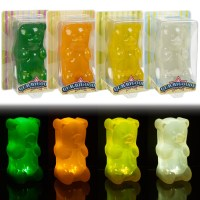 Childrens Gummy Bear Night Light Nightlight Squeezy