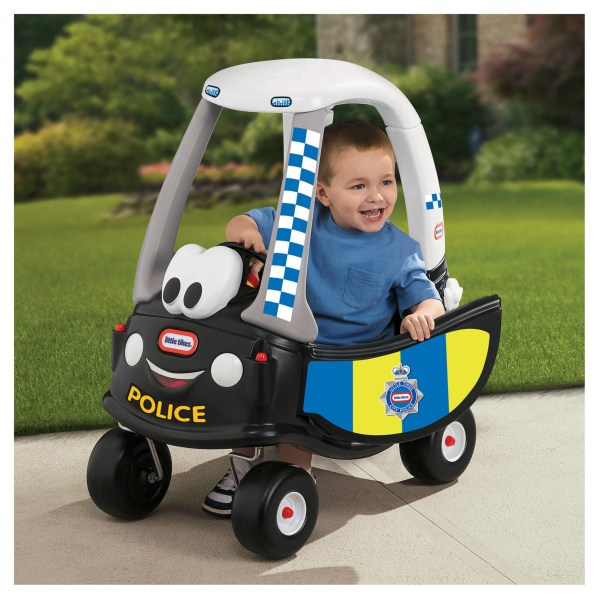 Little Tikes Classic Police Red Cozy Coupe Car Indoor Outdoor Toys Girls Boys