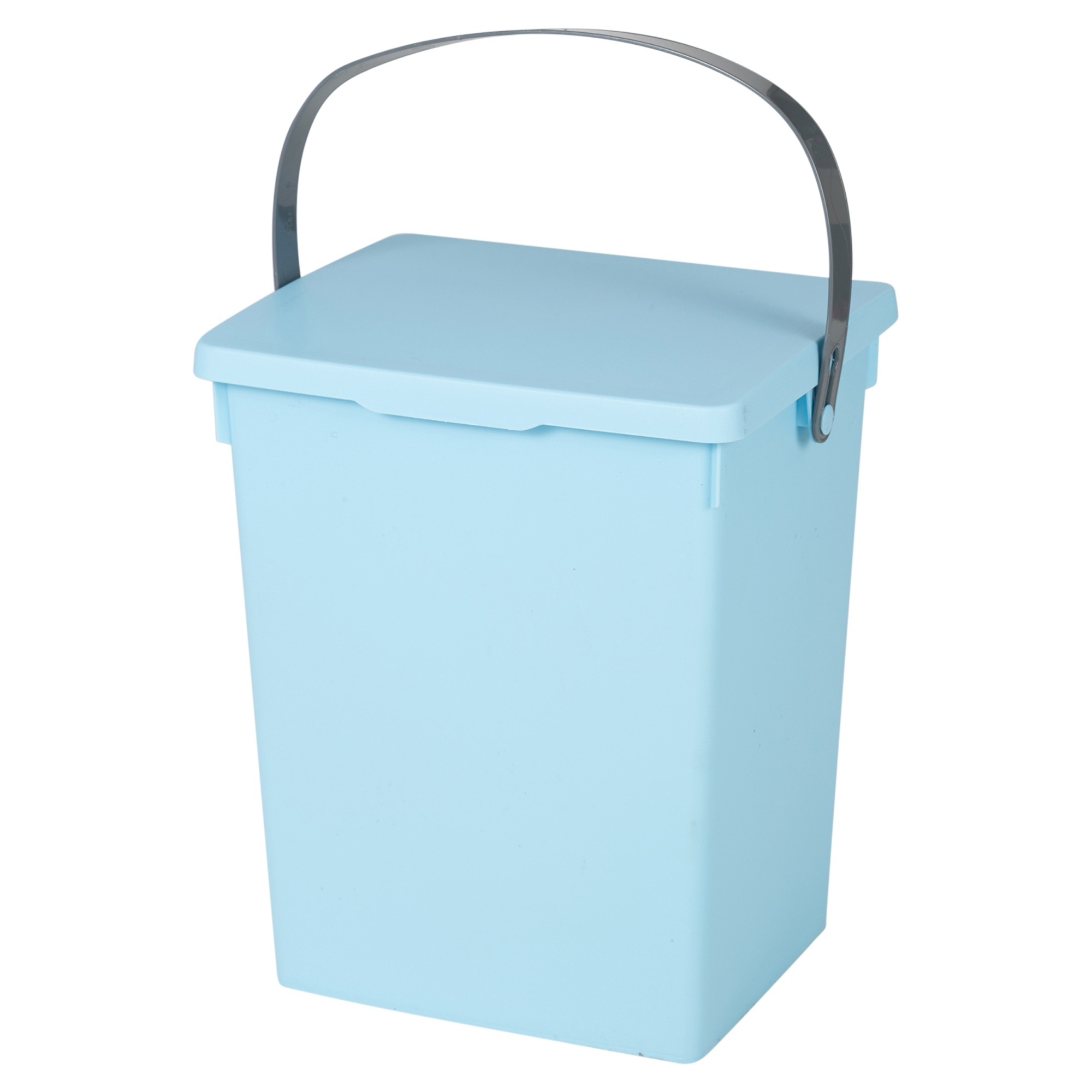 small recycling bins for kitchen decorating 5 litre table top food bin worktop