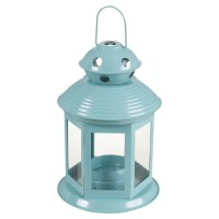 5 Home Garden Portable Lantern Tealight Candle Lamp Holder