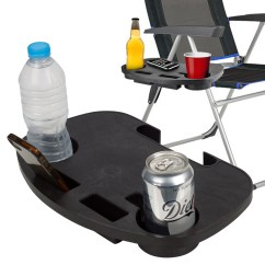 Bike Beach Chair Holder Boston Interiors Chairs 2x Clip On Table Tray Folding Relaxing Drink