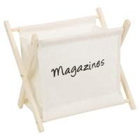 Wooden Magazine Newspaper Rack Holder Organiser Floor