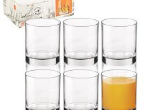 6 x Bormioli Rocco Cortina Dinner Whiskey Cocktail Tumbler ...