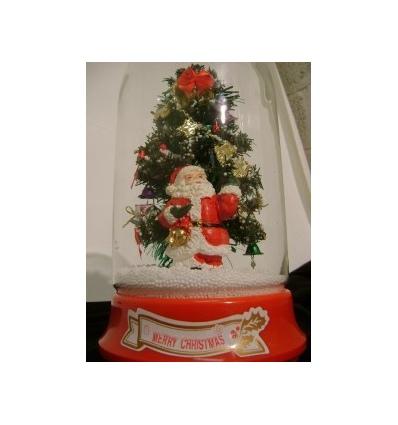 Snowing Musical Christmas Tree