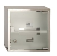 Wall Mounted Lockable 2 Keys Medicine Cabinet Cupboard ...