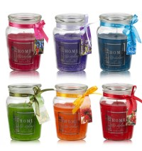 40H Scented Candles In Glass Jar