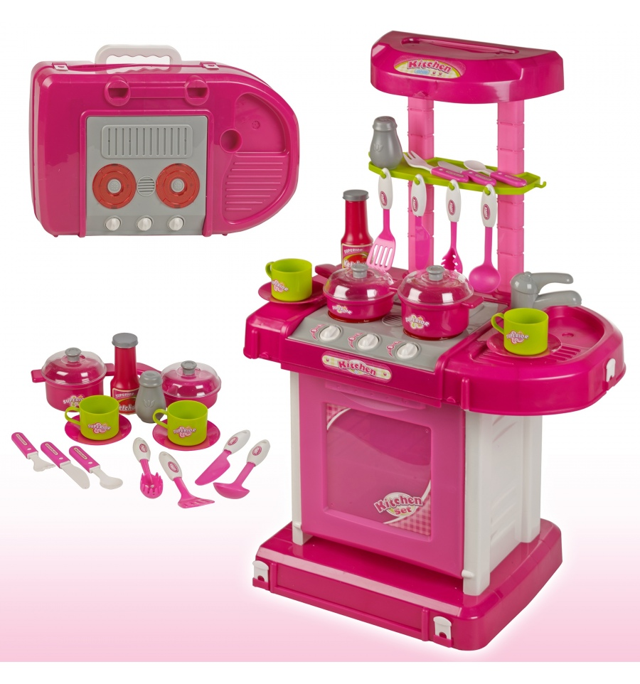 Kids Portable Kitchen Playset [507105]